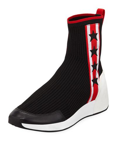 Jango Knit High-Top Sock Sneaker