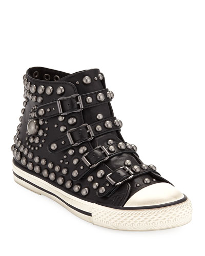 Vito Studded High-Top Sneakers