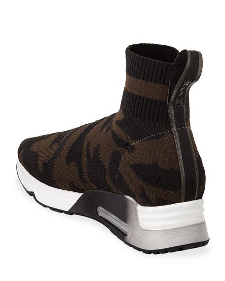 Lulu Knit High-Top Sneaker
