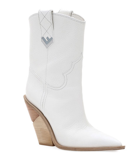 White Cutwalk 60 Leather Boots