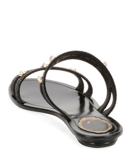 Embellished Double-Band Sandal