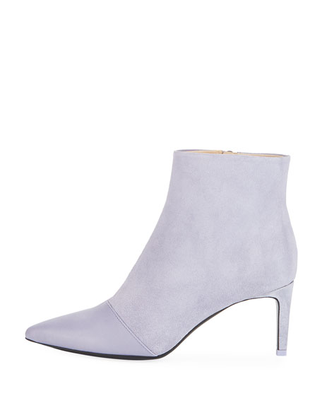 Beha Slim Leather/Suede Bootie
