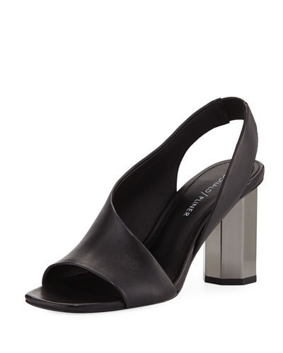 Ella Asymmetrical Slingback Sandal