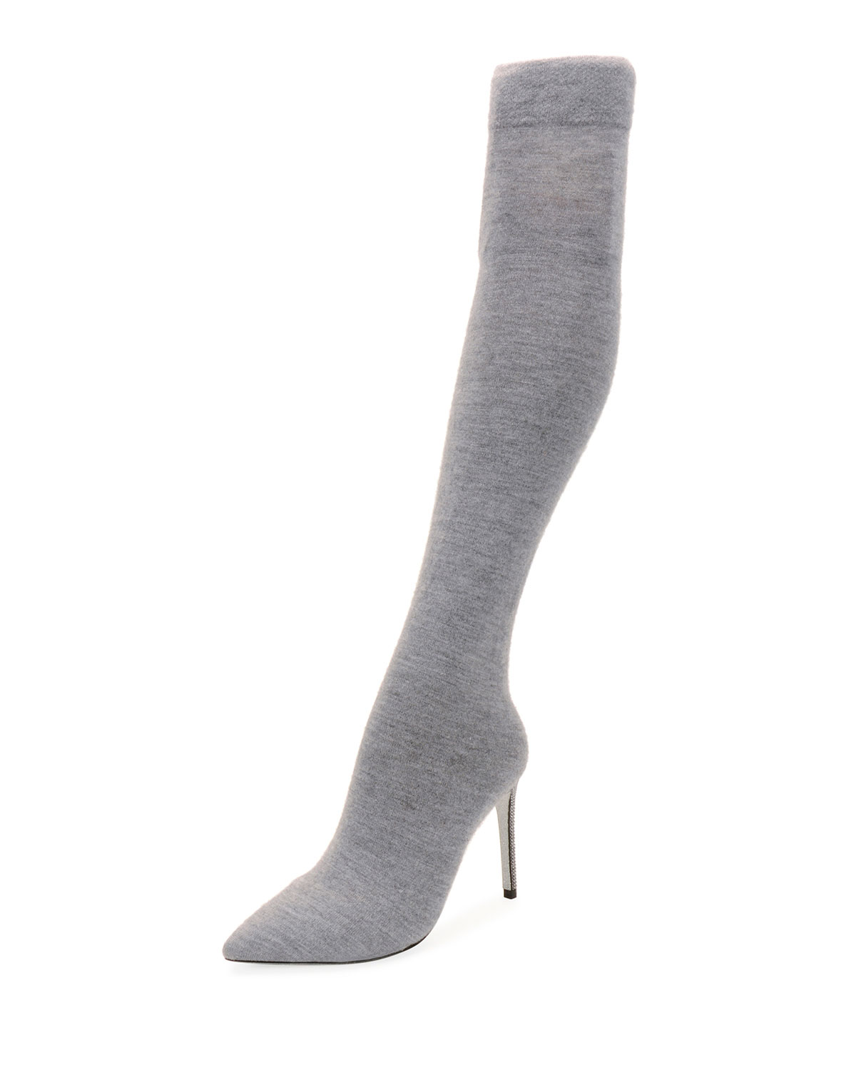 Rene Caovilla Jersey-Knit Over-The-Knee Boot Boot Boot cfd778