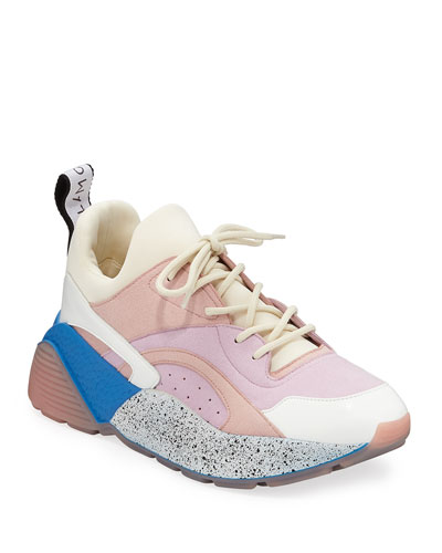 Eclypse Colorblock Lace-Up Sneaker