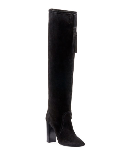 Meurice Suede Over-The-Knee Boot
