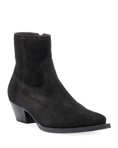 Saint Laurent Lukas West Wyatt Booties