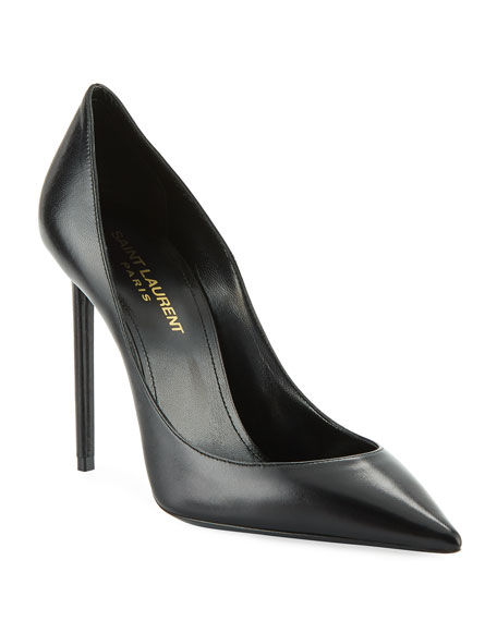 Saint Laurent Zoe Patent Point-Toe Pump