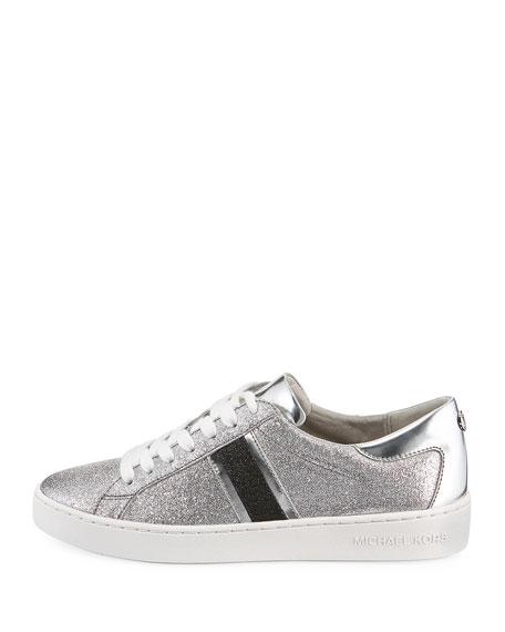 Keaton Stripe Glitter Sneakers