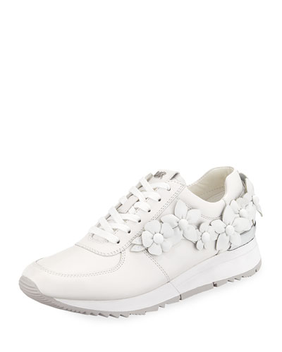 Allie Floral Trainer Sneakers