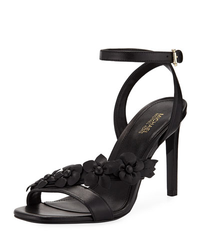 Tricia High Floral Sandal