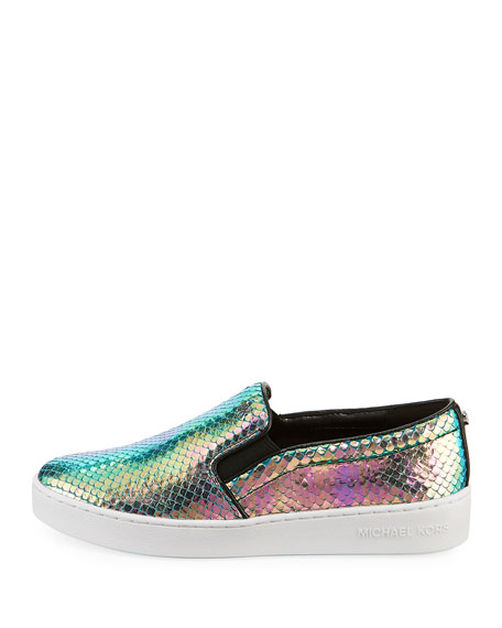 Keaton Iridescent Low-Top Sneakers