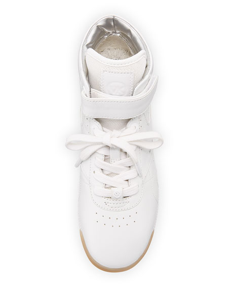 Addie High-Top Leather Sneaker