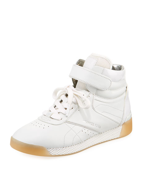 MICHAEL Michael Kors Addie High-Top Leather Sneaker