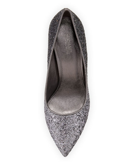 Claire Chunky Glitter Pump