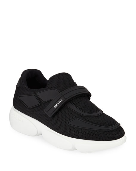 Prada Cloud Bust 40mm Knit Trainer Sneaker with