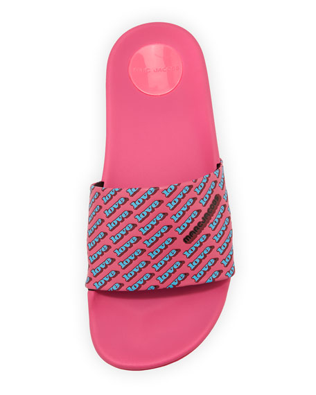 Love Aqua Pool Slide Sandal