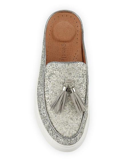 Rory Glitter Tassel Mule Sneakers