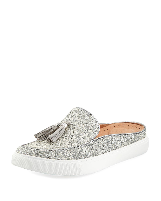 f4dbc197afa Gentle Souls Rory Glitter Tassel Mule Sneakers