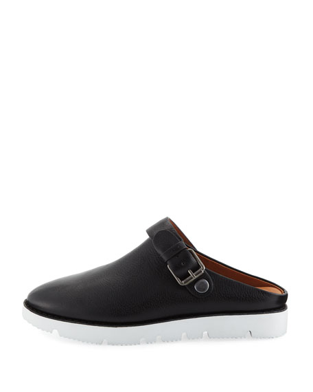 Esther Convertible Leather Sneaker Mules