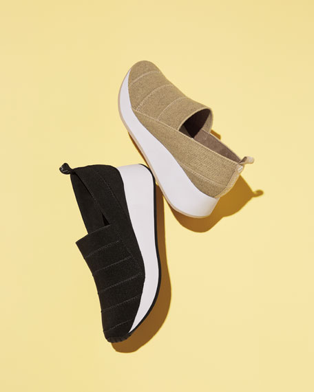 Piper Basic Stretch Slip-On Sneakers