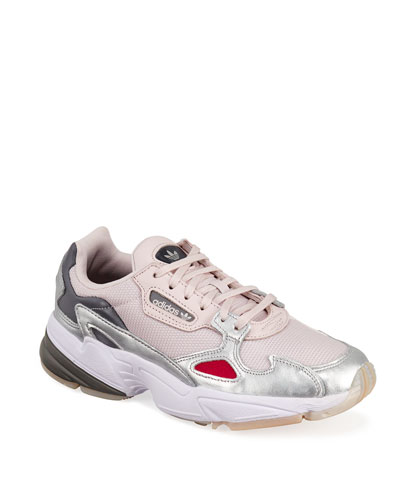Falcon Metallic Trainer Sneakers