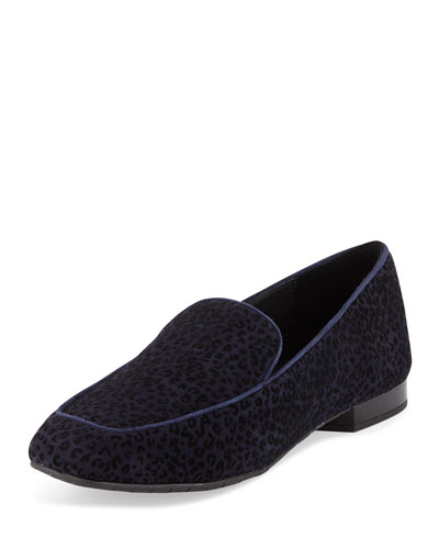 Heddy Flat Suede Loafers