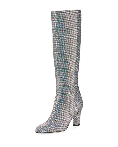 Studio Sparkle Holographic Knee High Boot by Sjp By Sarah Jessica Parker