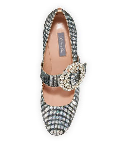 Celine Embellished Sparkle Mary Jane Pump