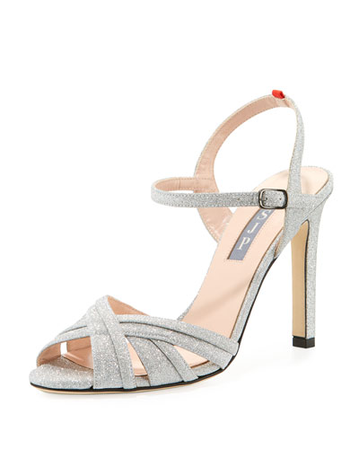 Cadence Sparkle Glitter Sandal
