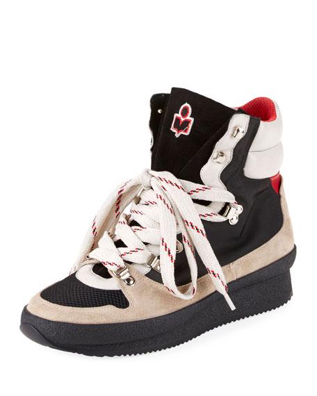 Isabel Marant Brendta Platform Hiker Sneakers
