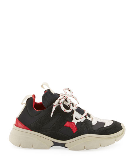 Kindsay Chunky Low-Top Sneakers