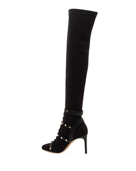 Rockstud BodyTech Over-The-Knee Boot