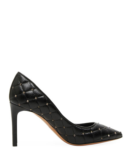 Rockstud Spike Pointed-Toe Pumps