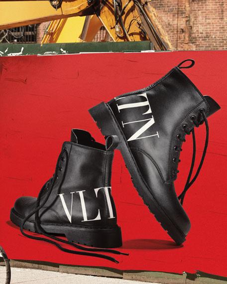 VLTN Leather Combat Boots