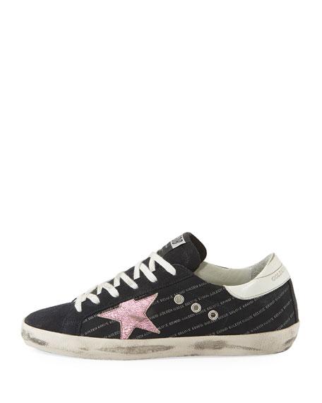 Superstar Low-Top Mixed Sneakers
