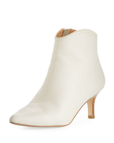 Ralean Leather Zip Bootie