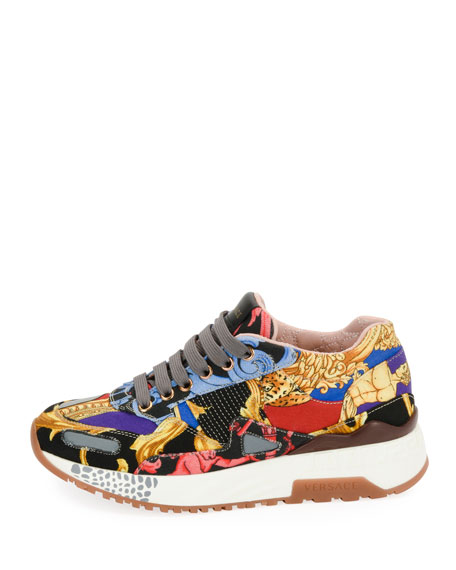 Jogger Pillow Talk Patchwork Sneakers