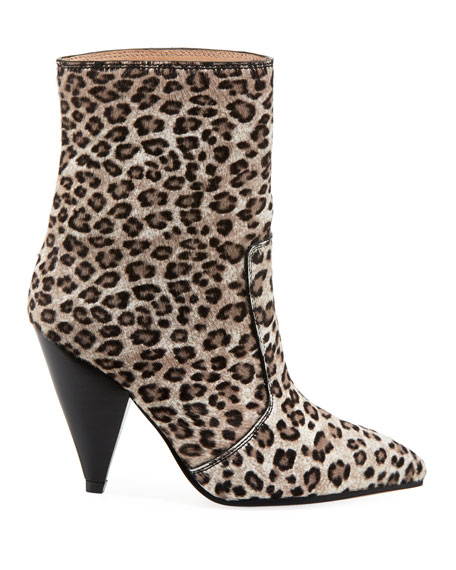 Atomic West Leopard Bootie
