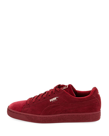 Classic Suede and Velvet Sneakers
