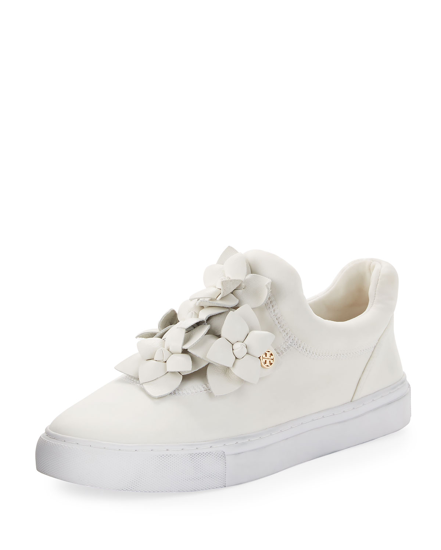 8a673b60a19878 Tory Burch Blossom Neoprene Floral Sneaker