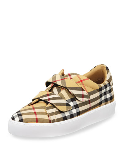 LF Alexandra Vintage Check Sneakers