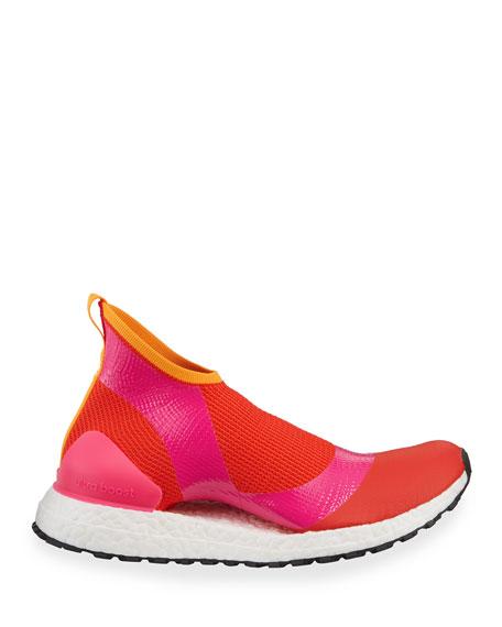 Ultra Boost X Fabric Sneakers, Pink/Orange