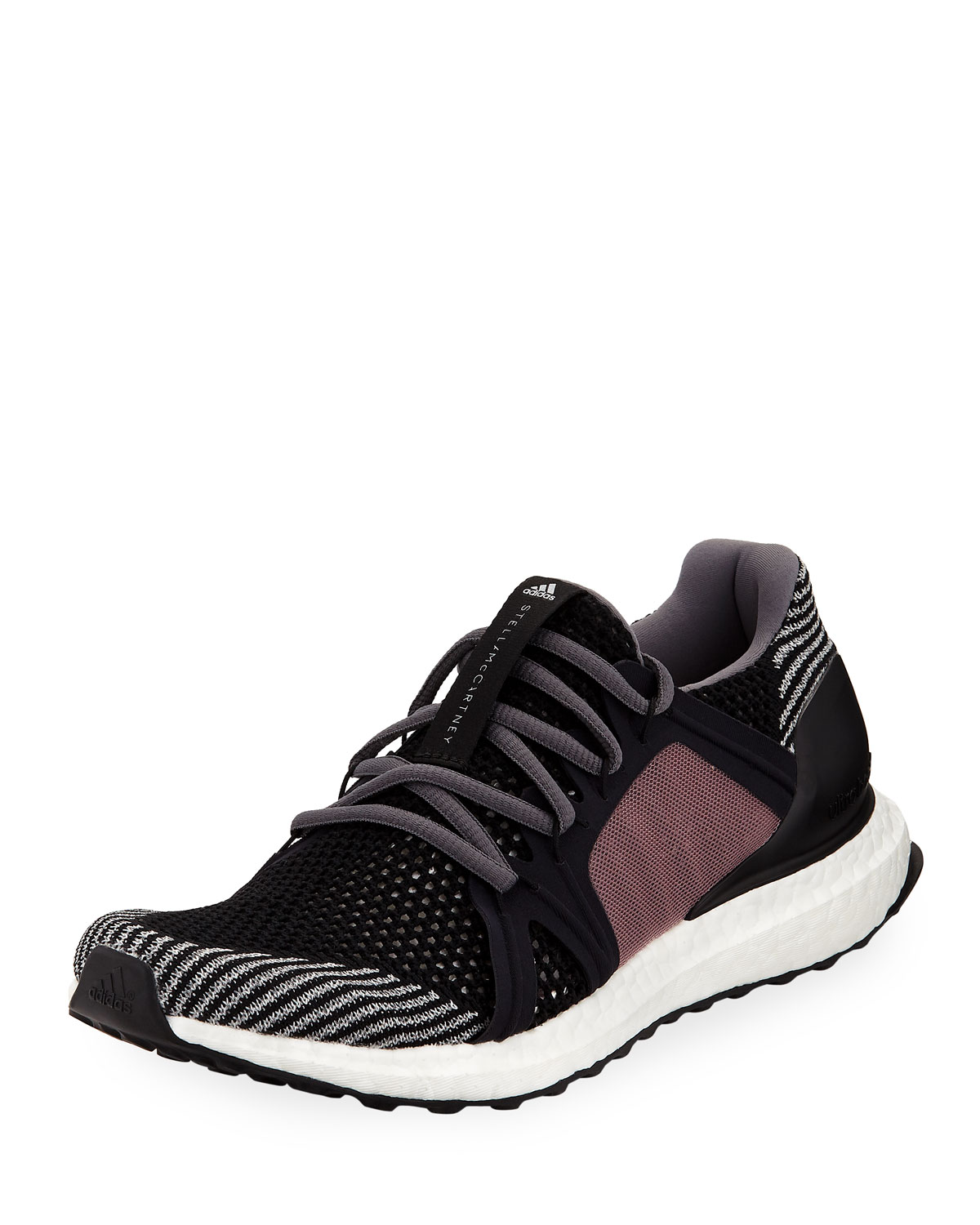 separation shoes 338d5 a75ef adidas by Stella McCartney UltraBOOST Flat-Knit Trainer Runner Sneakers