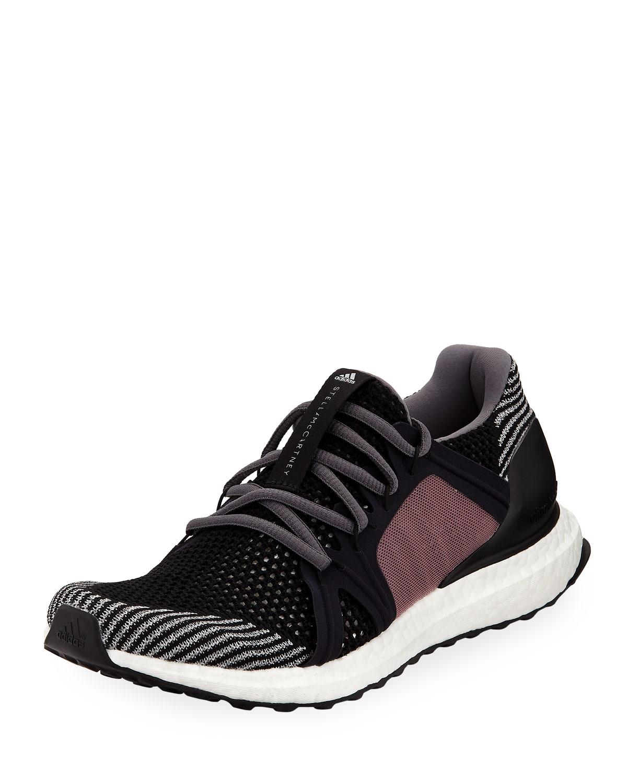 adidas by Stella McCartneyUltraBOOST Flat-Knit Trainer Runner Sneakers 0f6ba3ff6