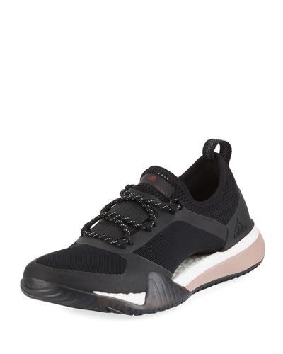 PureBoost X Mesh Sneakers, Black