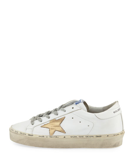Hi Star Leather Platform Sneaker