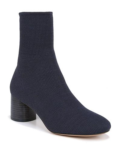 Tasha Stretch-Knit Booties