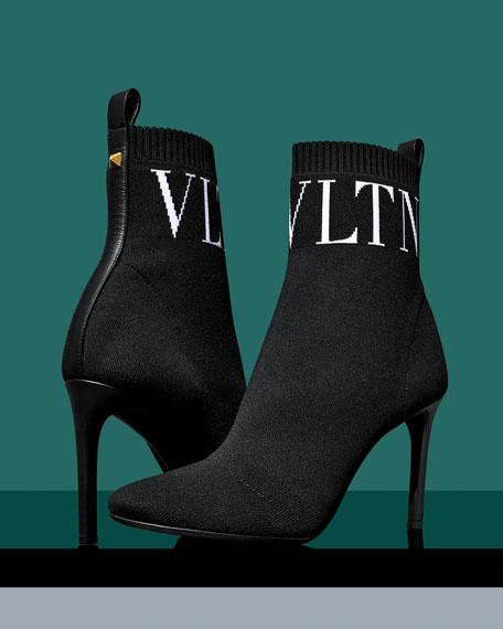 VLTN 90mm Stretch Sock Booties