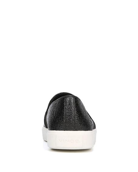 Blair 12 Crinkle Patent Leather Skate Sneakers